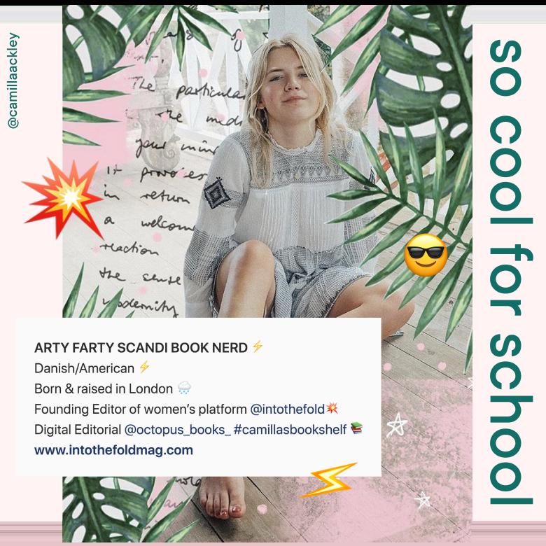 Milkshake   School of Instagram   Lesson 6: Supercharge Your Insta Bio   @camillaackley
