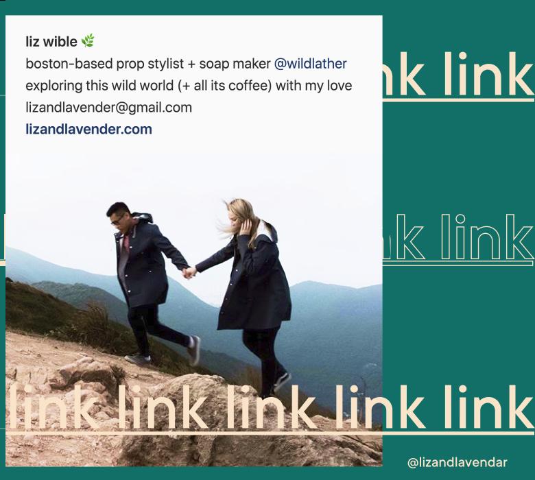 Milkshake   School of Instagram   Lesson 6: Supercharge Your Insta Bio   @lizandlavender