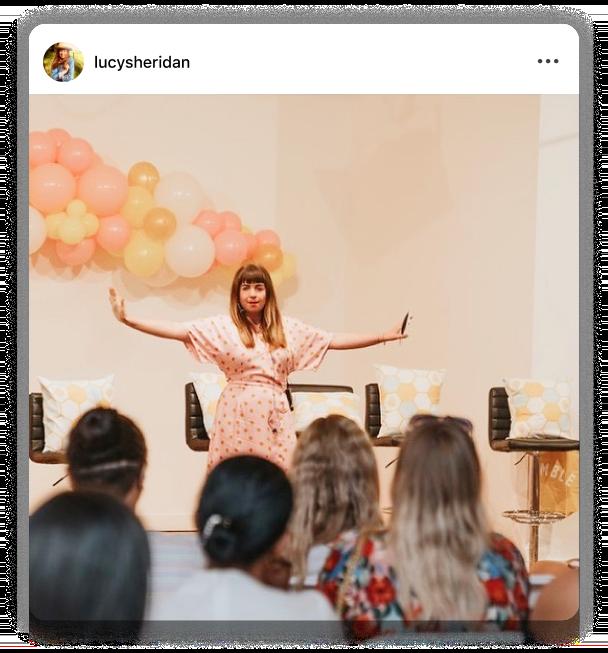 Instagram Comparison Coach Lucy Sheridan
