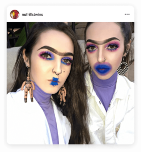 Being unique on Instagram | No Frills Twins | Insta Expert Q&A
