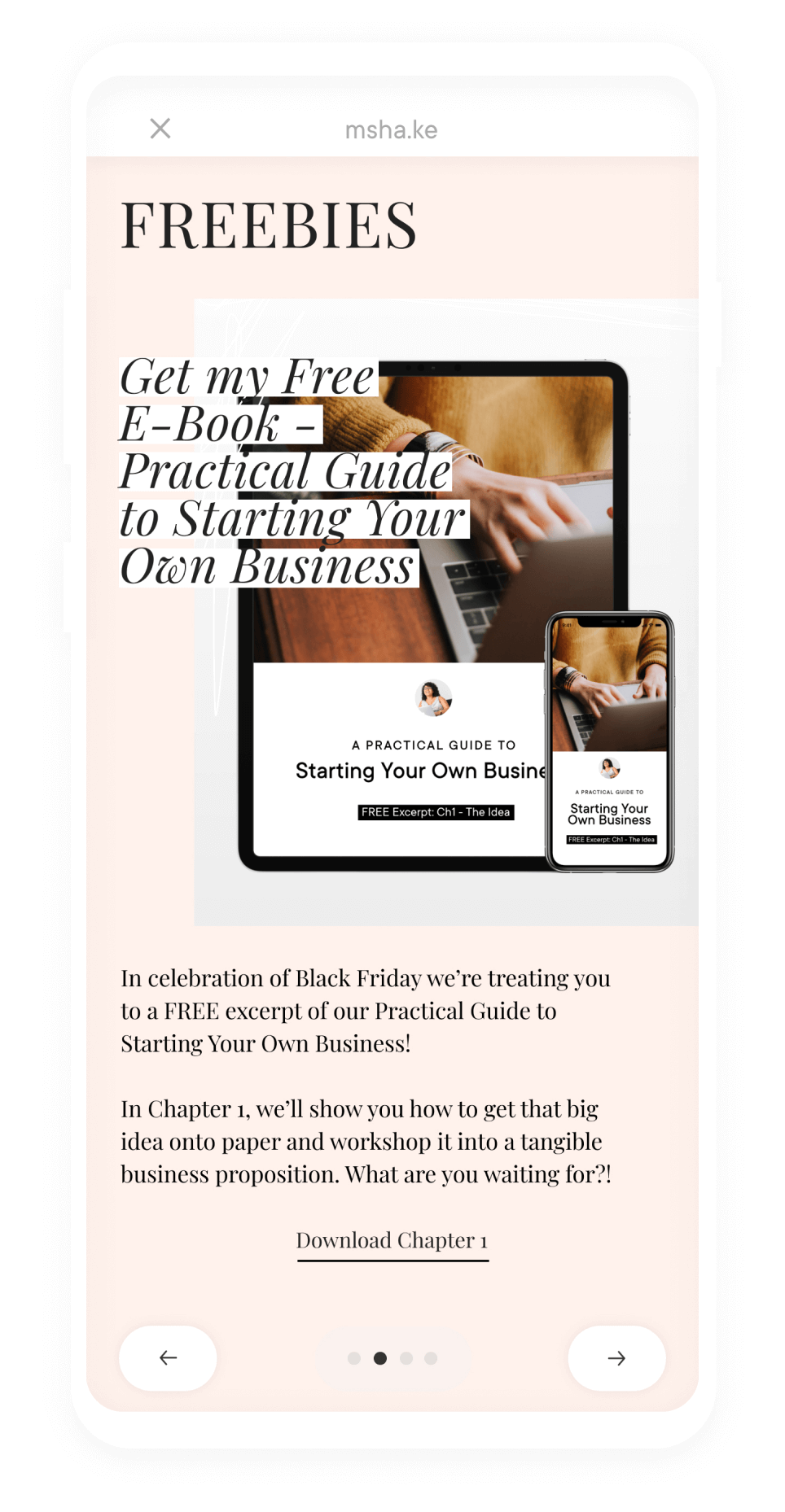 Black Friday tips | Milkshake Website Builder