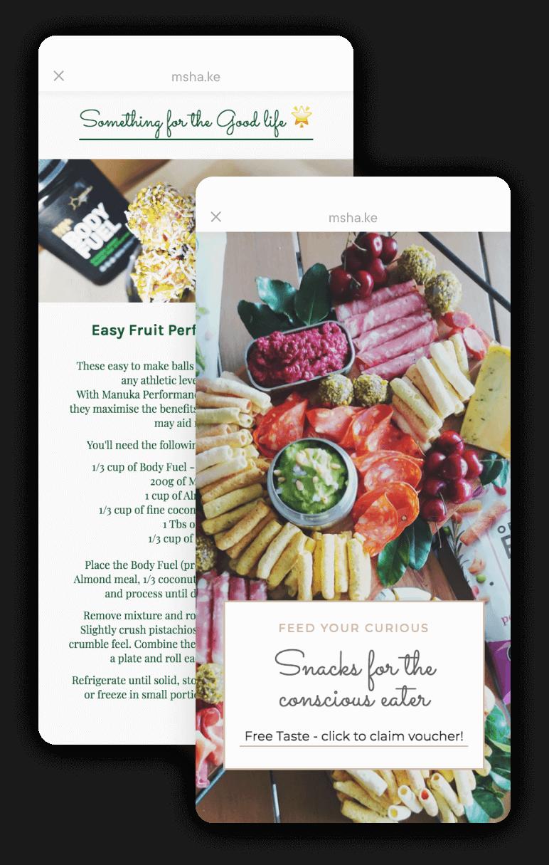 Milkshake Android App - The Pineapple Athlete